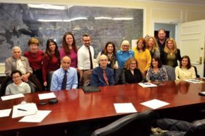 Members of the Disabilities Advisory Committee at a recent meeting