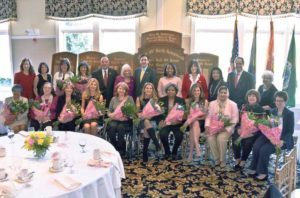 Honorees from the 2016 May W. Newburger Women's Roll of Honor