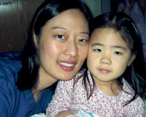 Dr. Hetty Chung and her daughter, Isabella