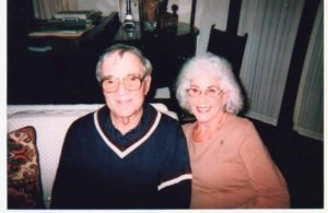 Dr. Robert J. Mones with wife, Ellen, in 2009