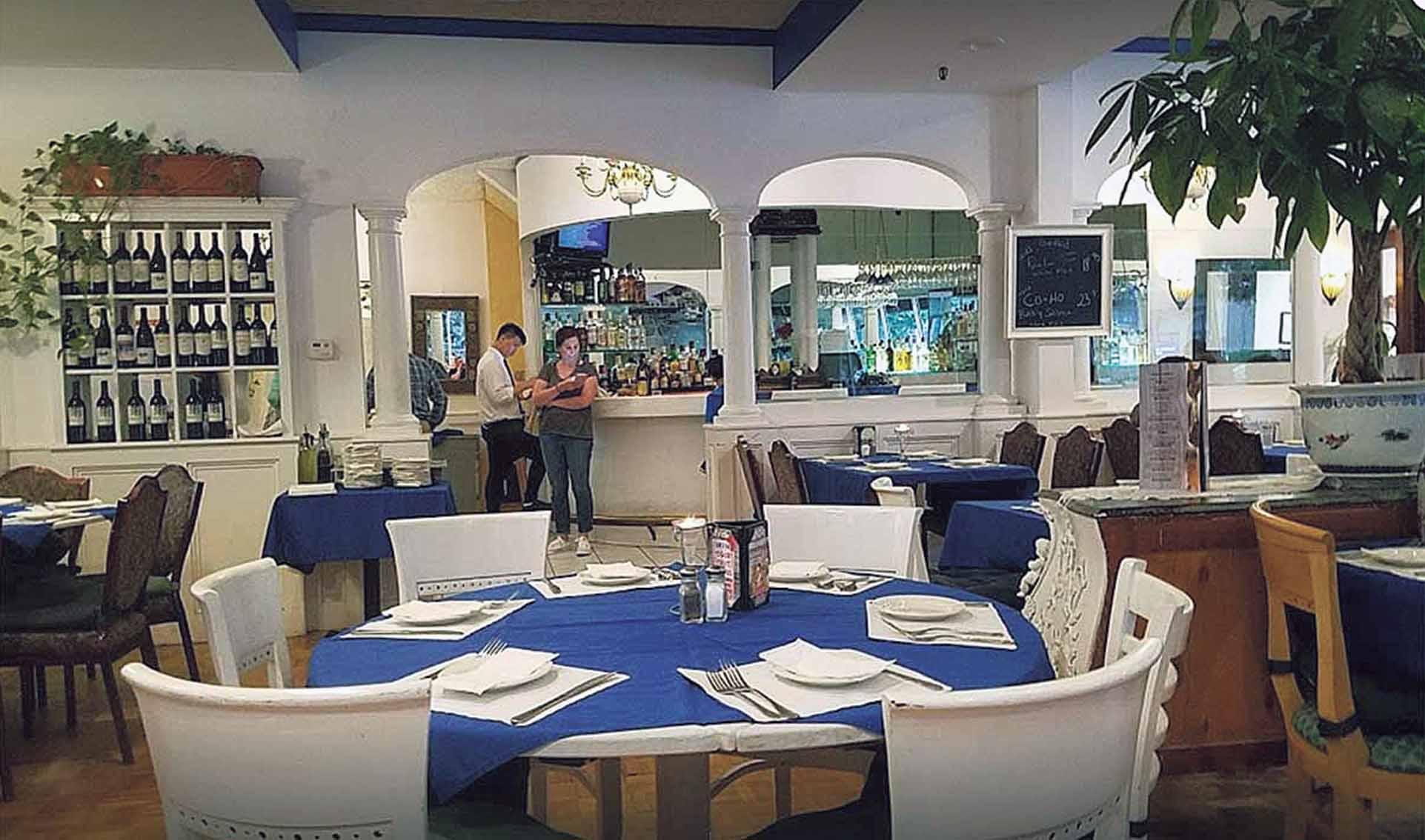 Mediterranean restaurant design