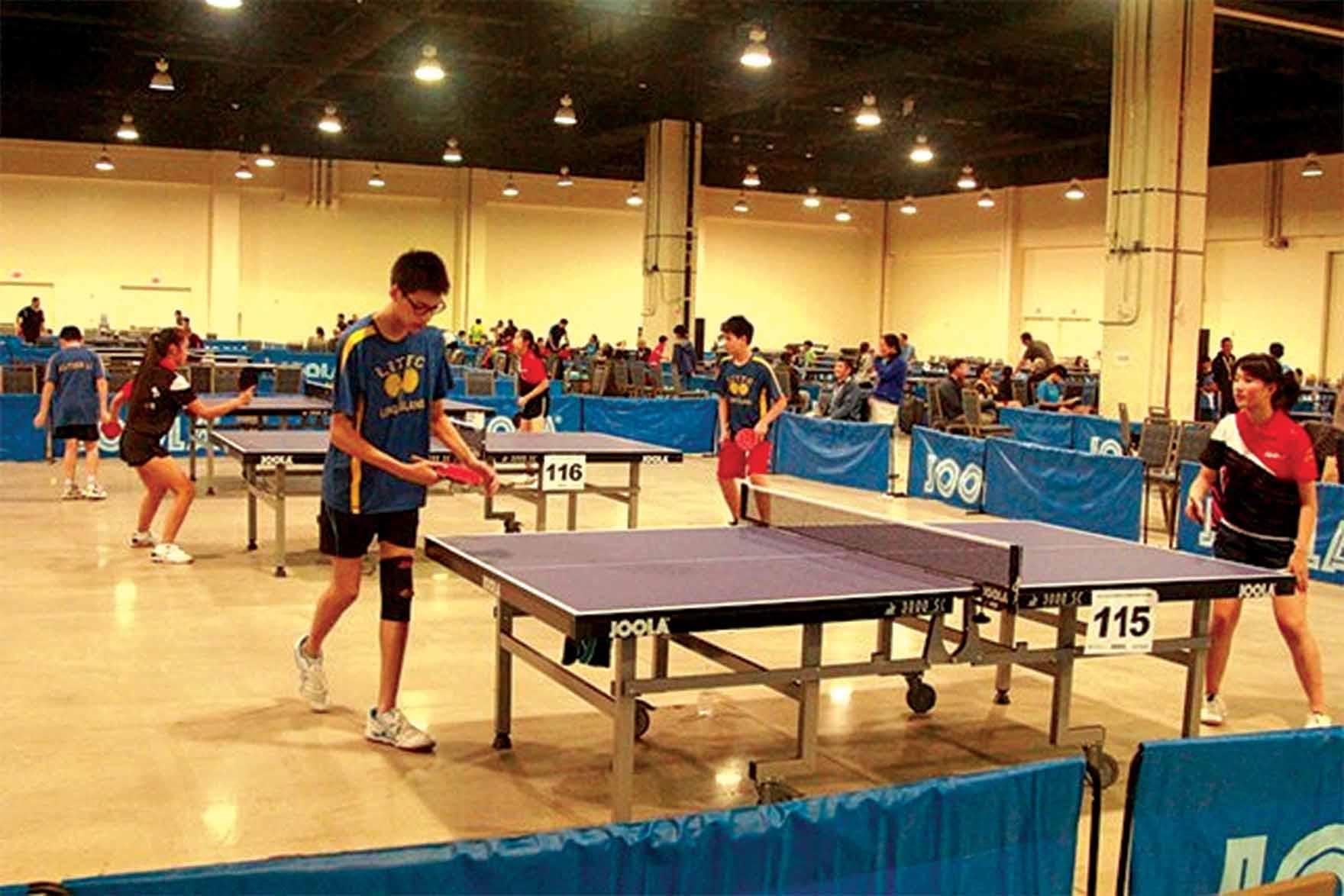 Great Neck Table Tennis Goes To Washington